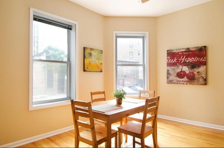 Bright Open Dining Rooms