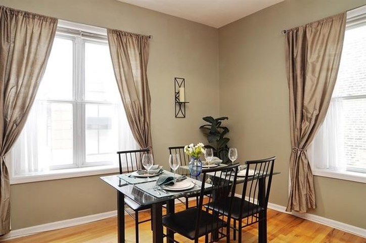 Bright Airy Dining Room