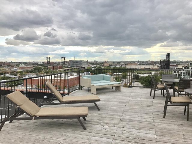 Rooftop Patio for Entertaining