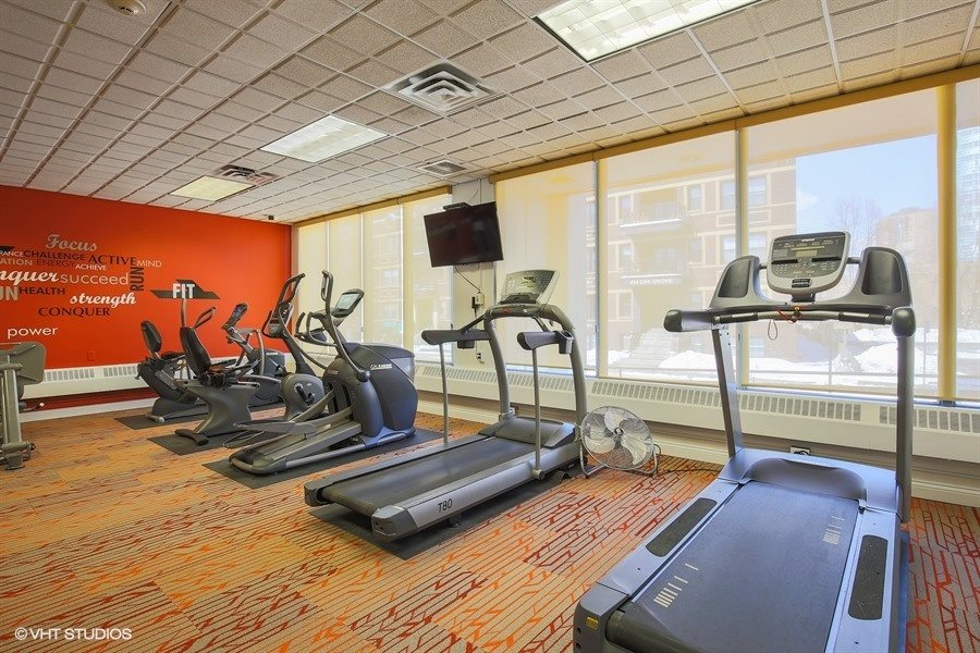 On-Site Fitness Center