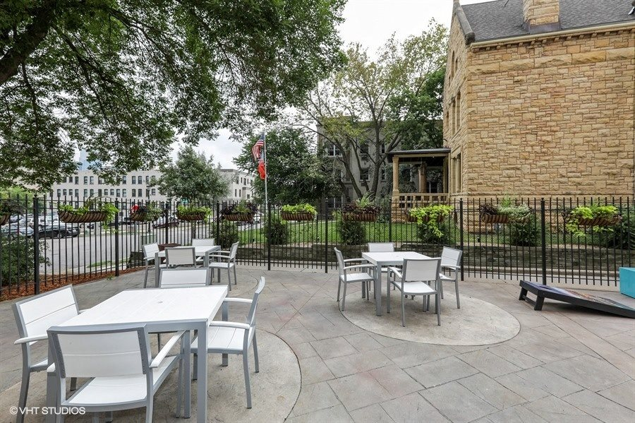 Outdoor Patio for Residents