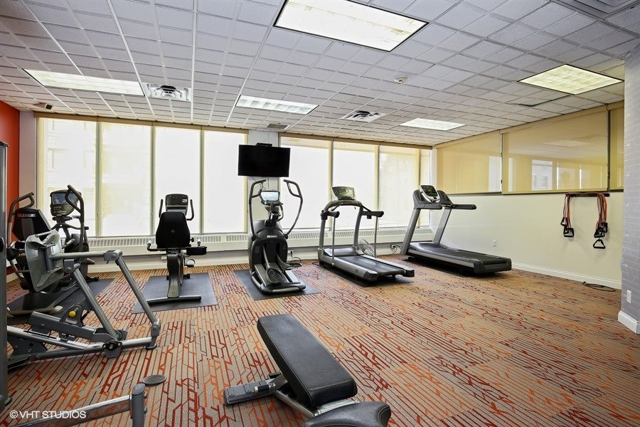 Get Fit with an On-Site Fitness Center