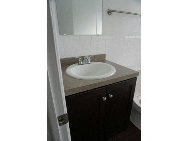 Bold Bathroom Cabinetry