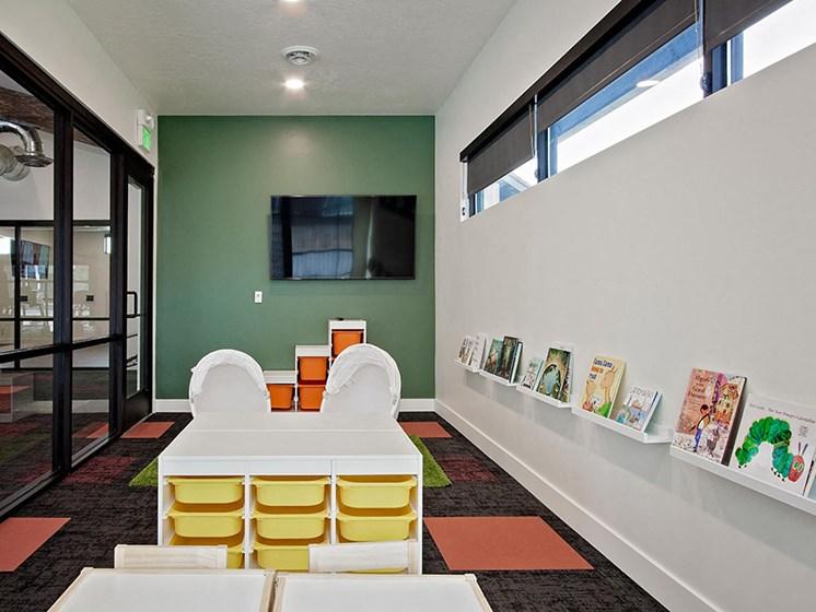 Recreation playroom area
