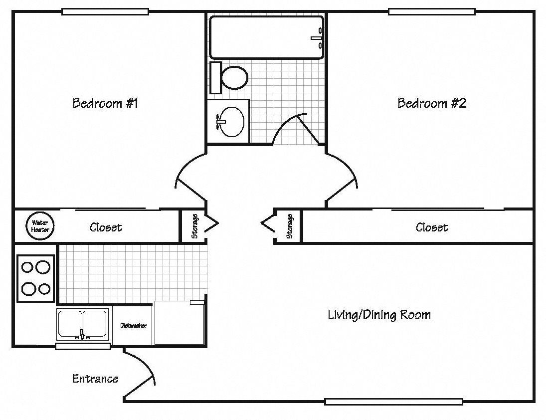 Floor Plans Of Arcade Apartments In Corvallis Or