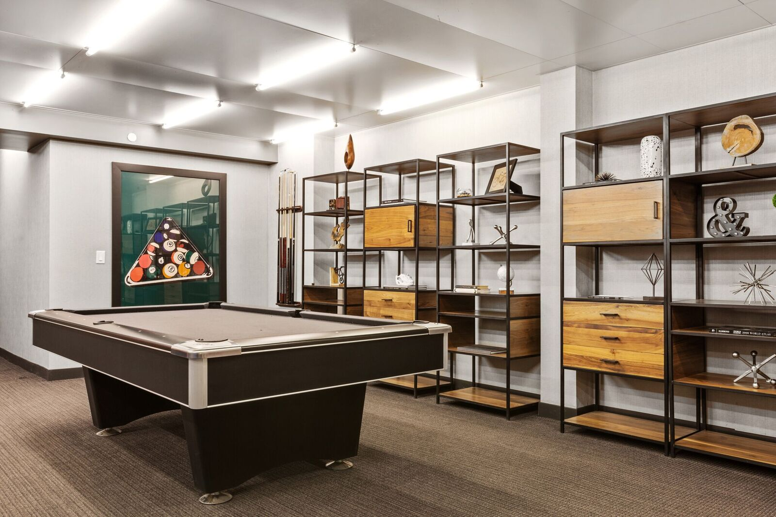 Clubhouse with Billiards at 461 Dean, Brooklyn, NY, 11217