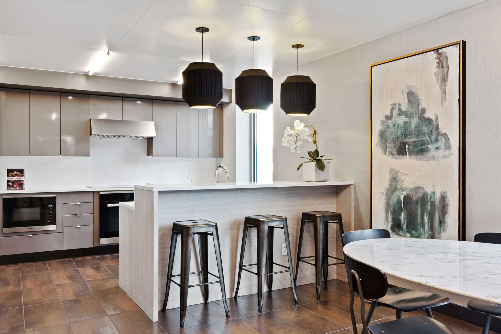 Clubhouse with Demonstrative Kitchen at 461 Dean, Brooklyn, 11217