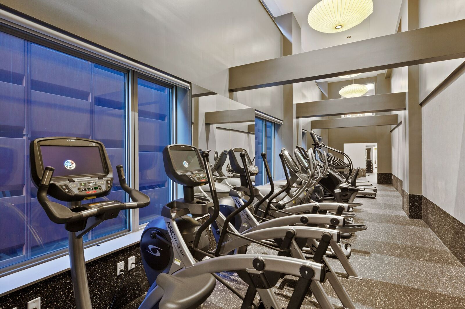 Fitness Center with Cardio Equipment at 461 Dean, Brooklyn