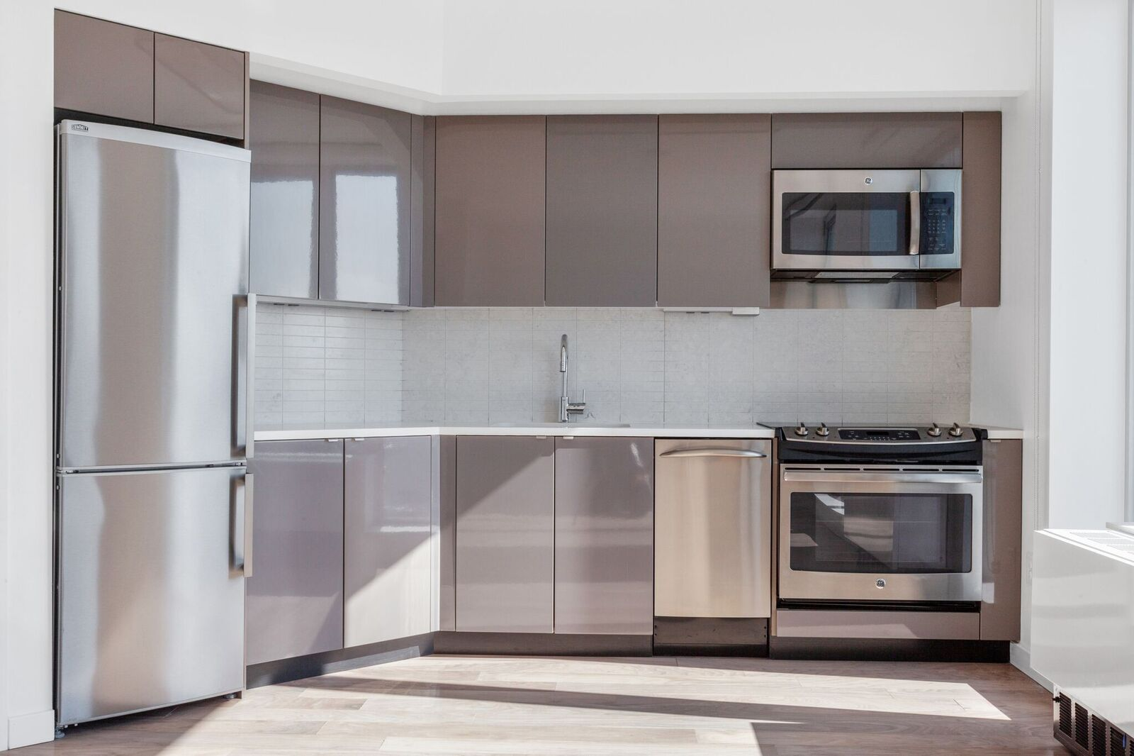 Stainless Steel GE Appliances at 461 Dean, Brooklyn, NY