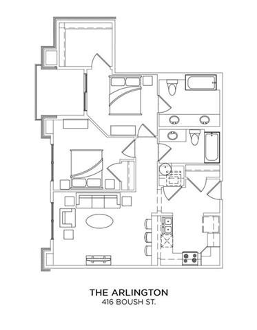 THE ARLINGTON Floor Plan 16
