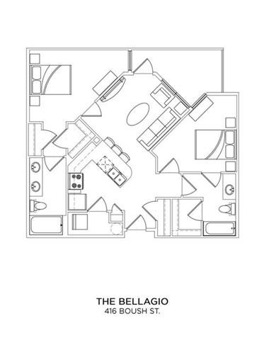 THE BELLAGIO Floor Plan 13