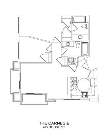 THE CARNEGIE Floor Plan 14