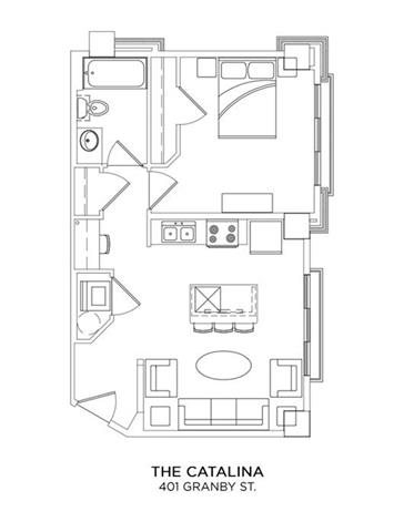 THE CATALINA Floor Plan 6