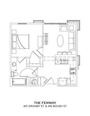 THE FENWAY Floor Plan 7