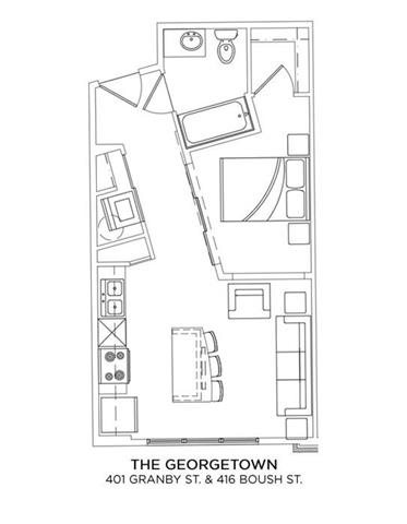 THE GEORGETOWN Floor Plan 2