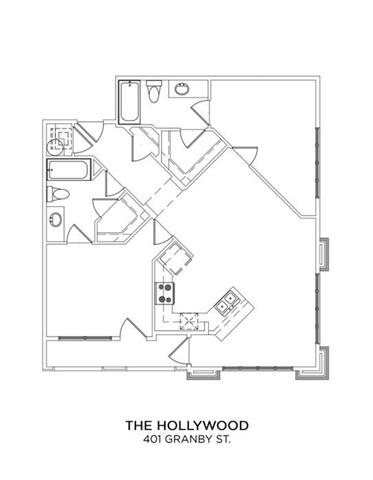 THE HOLLYWOOD Floor Plan 17