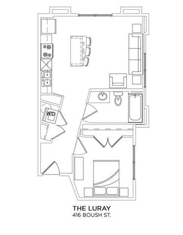 THE LURAY Floor Plan 5