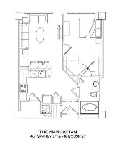 THE MANHATTAN Floor Plan 9
