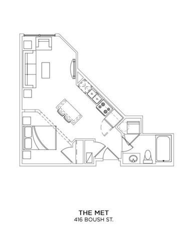 THE MET Floor Plan 1