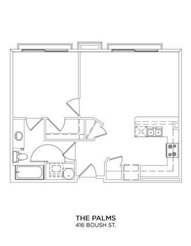 THE PALMS Floor Plan 8