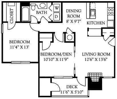Georgetown Floor Plan 3
