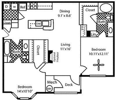 HICKORY Floor Plan 4