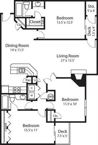 THOREAU Floor Plan 4