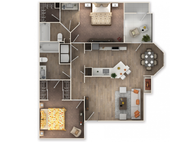 Brittany Floor Plan 4