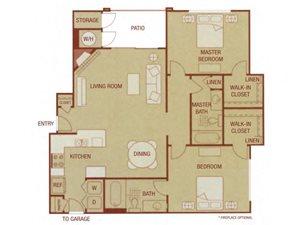 Sonoma Resort Apartments 2 bed 2 bath