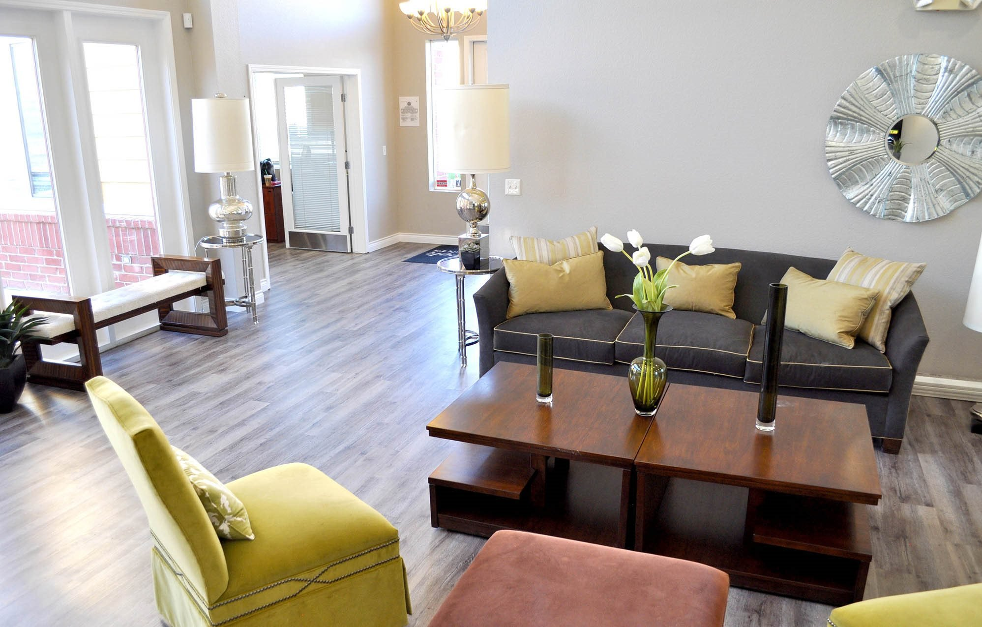 North Creek Clubhouse living Room