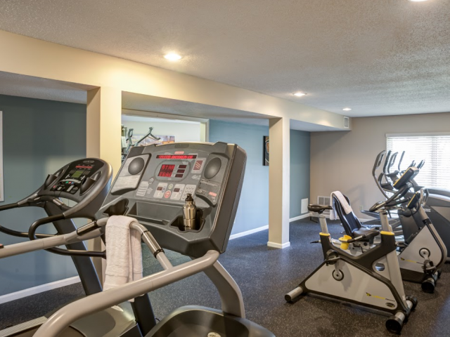 24-hour Fitness Center with Cardio Machines