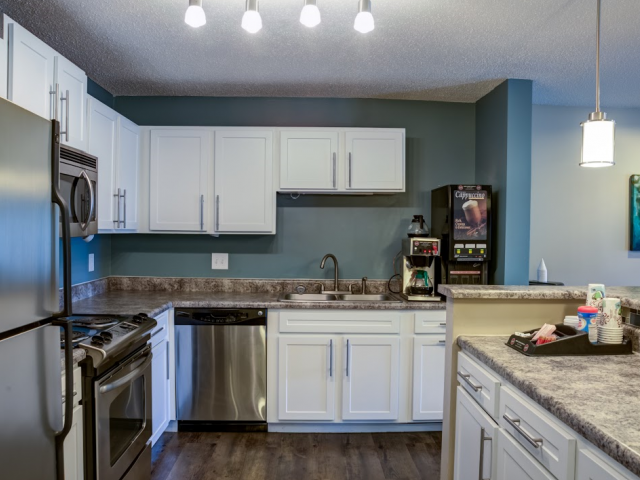 Full Modern Shared Kitchen in the Resident Clubhouse