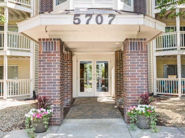 Cityscape's Apartments Entrance