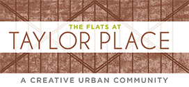 Logo for The Flats at Taylor Place