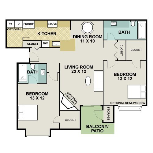 Quarter Horse Floor Plan 8