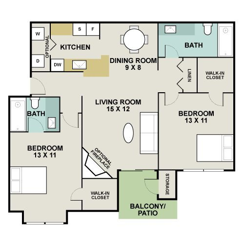 Thoroughbred Floor Plan 9