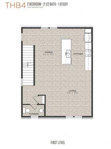 TH B4 Floor Plan 8