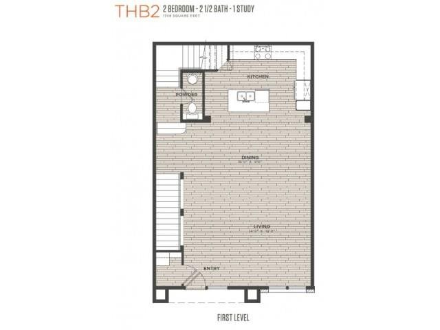 TH B2 Floor Plan 6
