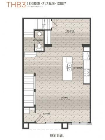 TH B3 Floor Plan 7