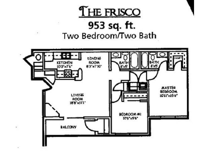 The Frisco Floor Plan 2