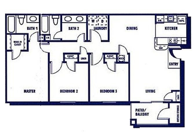 The Savannah Floor Plan 3