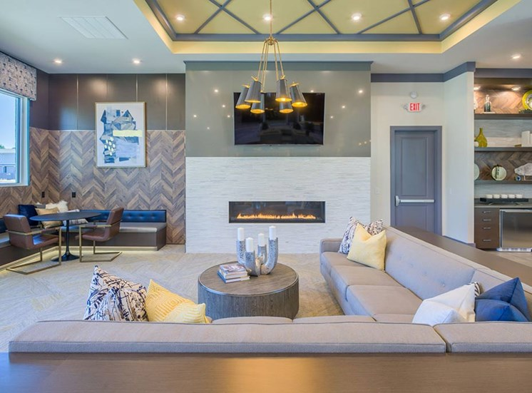 Large Clubhouse With Ample Sitting at The Haven at Rivergate, Charlotte, 28273