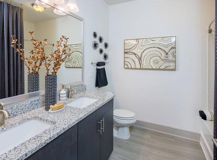 Designer Bathroom Suites at The Haven at Rivergate, Charlotte