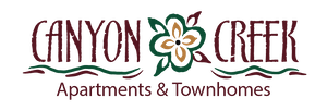 Logo for Canyon Creek Apartments in Mehlville, MO.