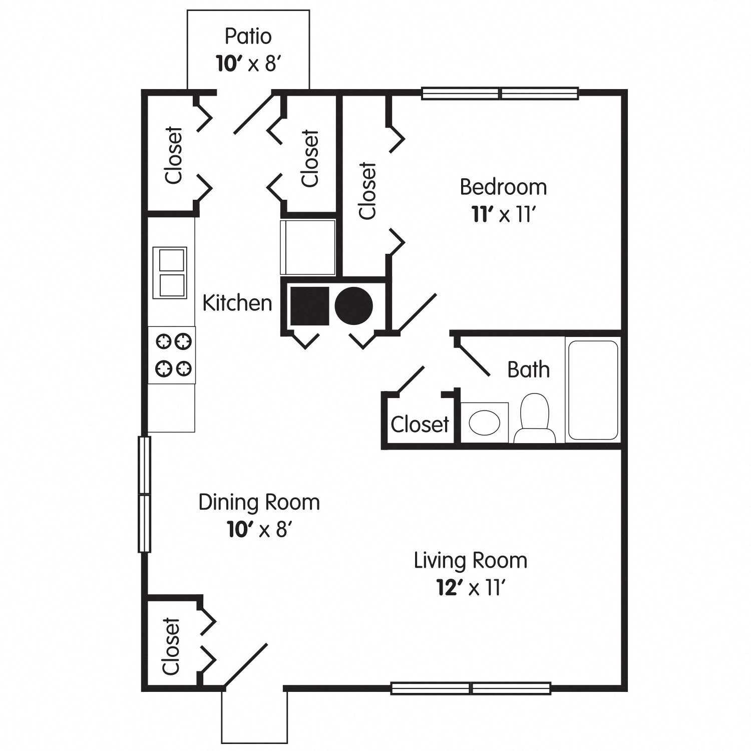 The Princess Floor Plan 1