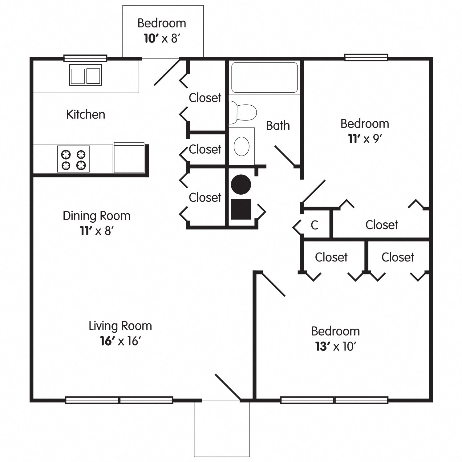 The Windsor Floor Plan 2