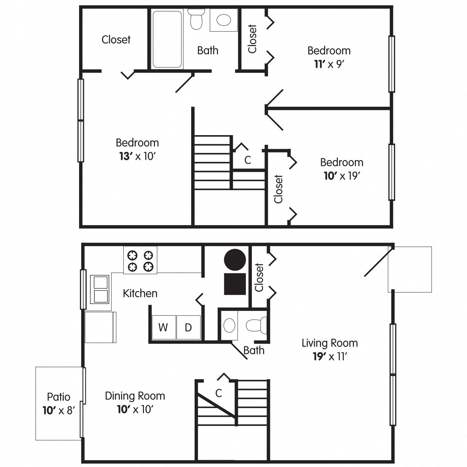 The Regency Floor Plan 4