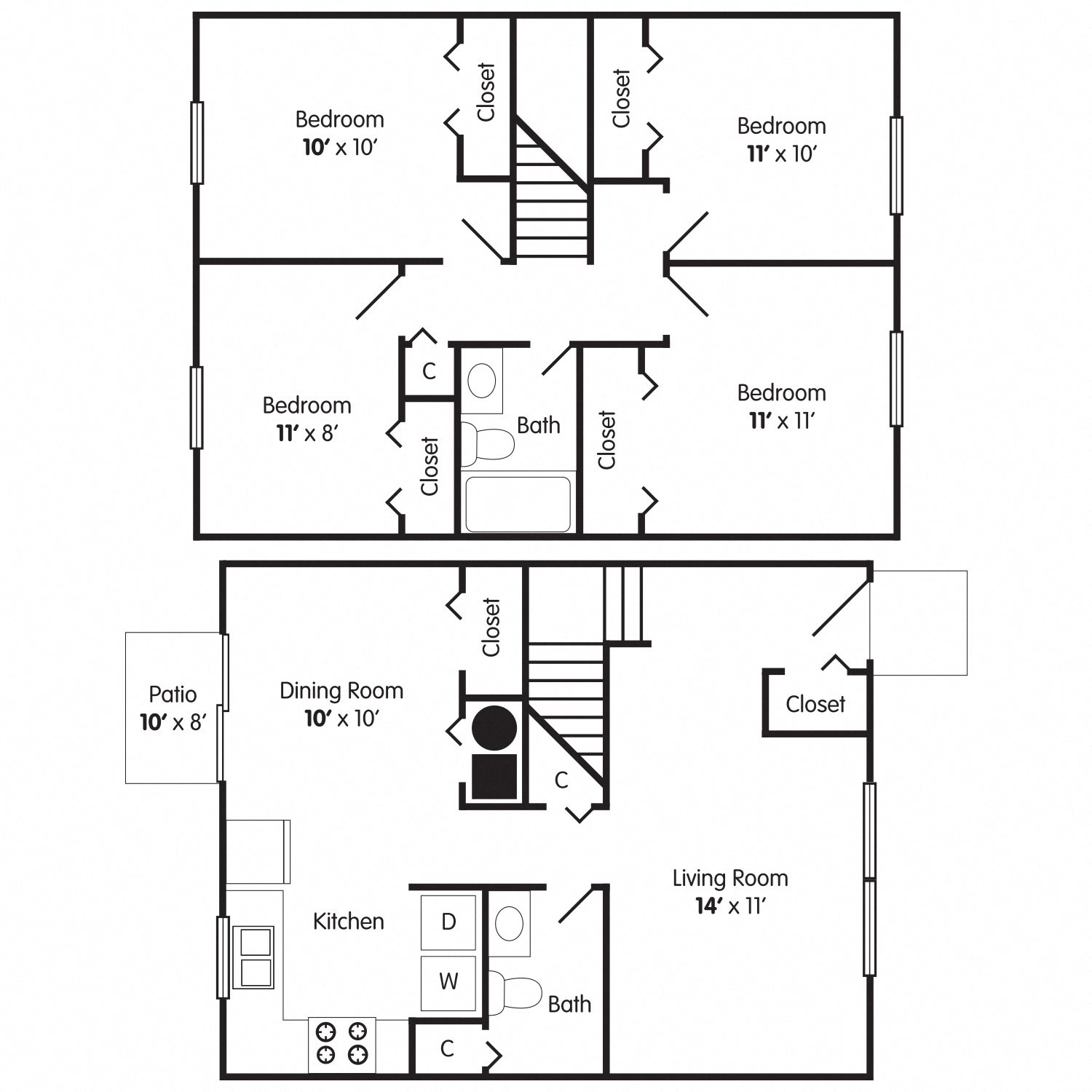 The Linwood Floor Plan 5