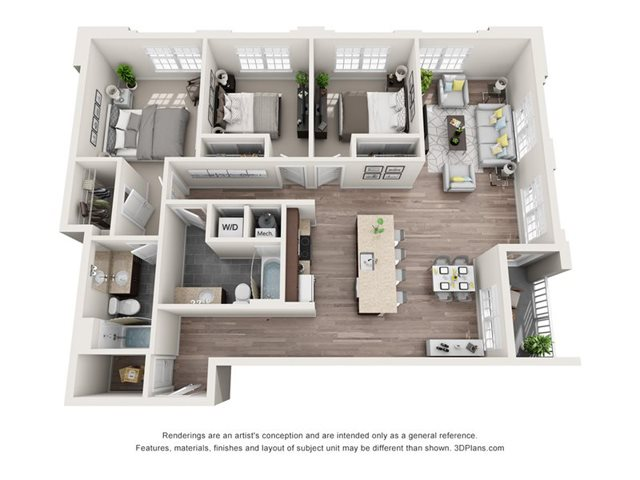 C1 Floor Plan 15