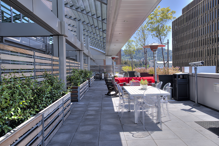 Resident Gathering Area at Berkeley Central, California